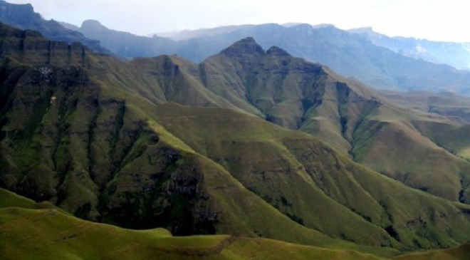 High Mountains, Drakensberg, Kwa-zu