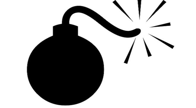 Bomb Silhouette