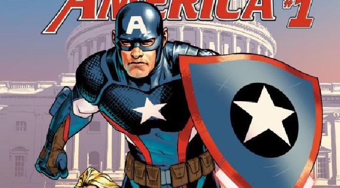 Steve Rogers Captain America #1