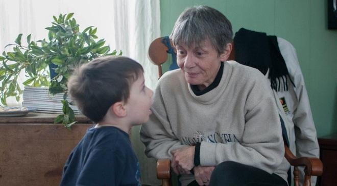Mom and grandkid